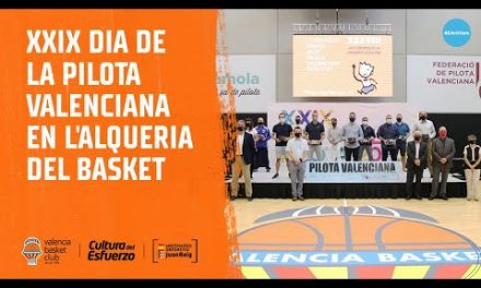 XXIX Día de la Pilota Valenciana en L'Alqueria del Basket