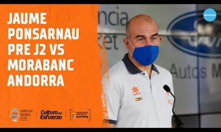 Jaume Ponsarnau Pre J2 vs Morabanc Andorra