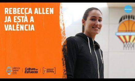 Rebecca Allen ya está en Valencia