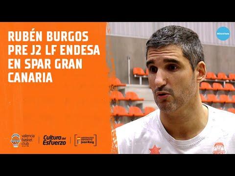 Rubén Burgos pre J2 LF Endesa en Spar Gran Canaria