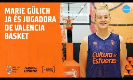 Marie Gülich ya es jugadora de Valencia Basket
