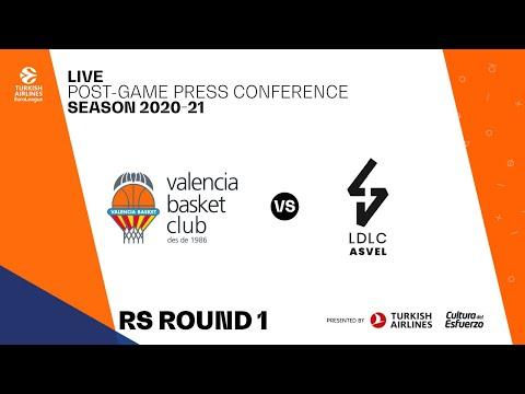 Press Conference G1 Turkish Airlines Euroleague vs LDLC Asvel