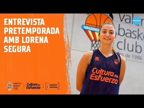 Entrevista pretemporada Lorena Segura