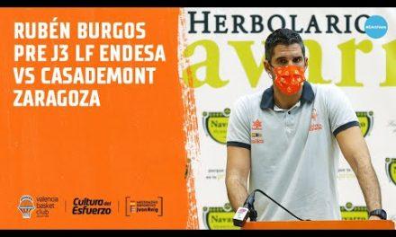 Rubén Burgos pre J3 LF Endesa vs Casademont Zaragoza