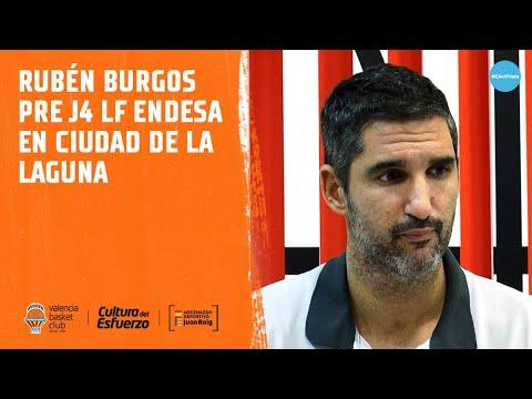 Rubén Burgos pre J4 LF Endesa en Ciudad de la Laguna
