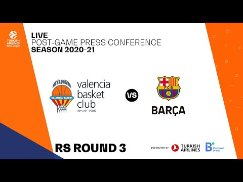 Press Conference G3 Turkish Airlines EuroLeague vs FC Barcelona