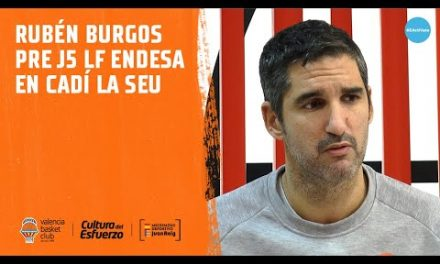 Rubén Burgos pre J5 LF Endesa en Cadí la Seu
