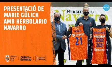 Presentación Marie Gülich con Herbolario Navarro
