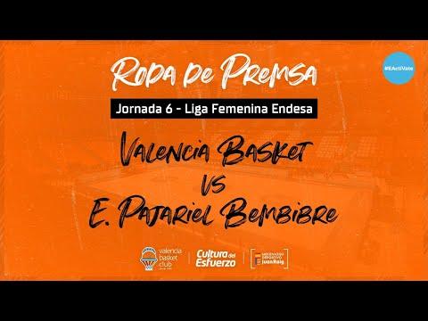 Rueda de prensa J6 LF Endesa vs Embutidos Pajariel Bembibre