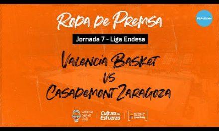 Rueda de prensa J7 Liga Endesa vs Casademont Zaragoza