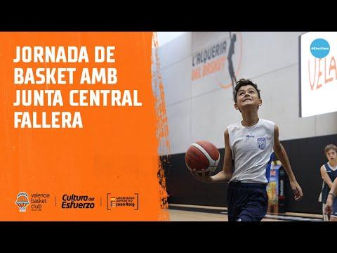 Jornada de basket con Junta Central Fallera