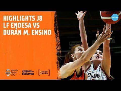Highlights J8 LF Endesa vs Durán Maquinaria Ensino