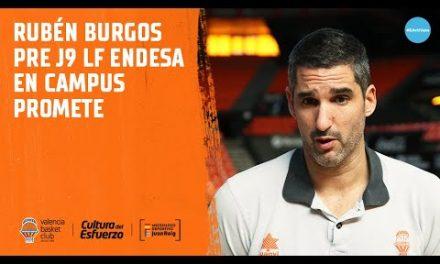 Rubén Burgos pre J9 LF Endesa en Campus Promete