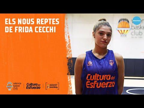 Los nuevos retos de Frida Cecchi