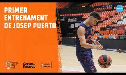 Primer entrenament de Josep Puerto