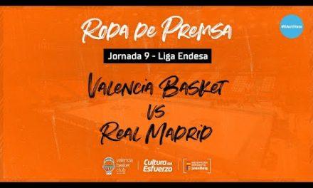 Rueda de prensa J9 Liga Endesa vs Real Madrid
