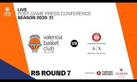 Rueda de prensa J7 Turkish Airlines EuroLeague vs AX Armani Exchange Milan
