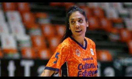 Cristina Ouviña: la mejor en asistencias J9 LF Endesa