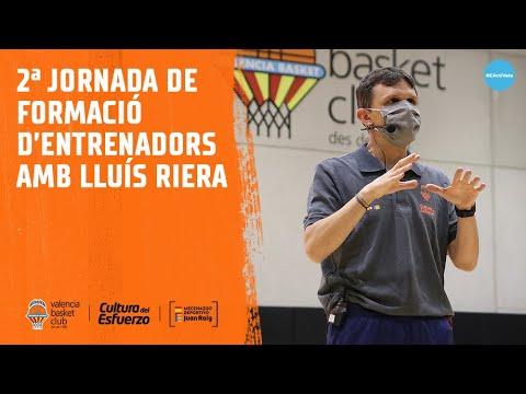 Segunda jornada de formación de entrenadores con Lluís Riera