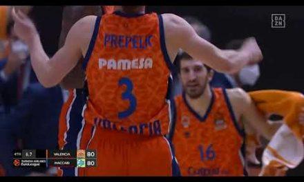 Triple clave Derrick Williams vs Maccabi Playtika Tel Aviv J10 Turkish Airlines EuroLeague