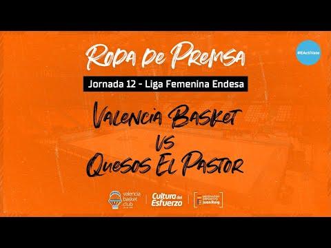 Rueda de prensa post J12 LF Endesa vs Quesos El Pastor
