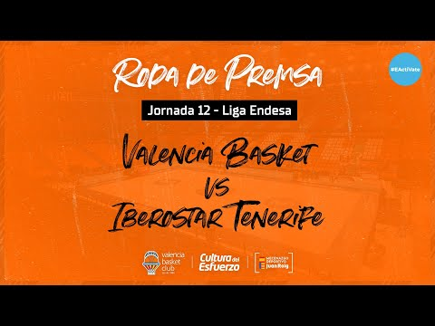 Rueda de prensa J12 Liga Endesa vs Iberostar Tenerife