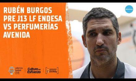 Rubén Burgos pre J13 LF Endesa en Perfumerías Avenida