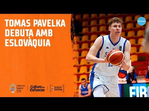 Tomas Pavelka debuta como internacional con Eslovaquia