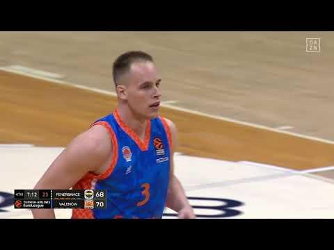 Klemen Prepelic 13 puntos en el último cuarto J11 Turkish Airlines EuroLeague en Fenerbahce Beko