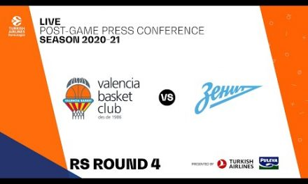 Rueda de Prensa post J4 Turkish Airlines EuroLeague vs Zenit SPB