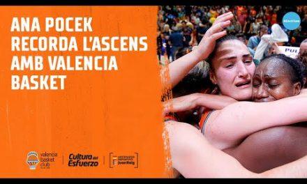 Ana Pocek recuerda el ascenso con Valencia Basket