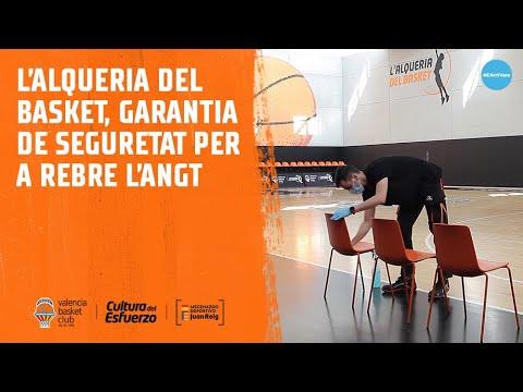 L'Alqueria del Basket, garantía de seguridad para recibir el EuroLeague Basketball ANGT