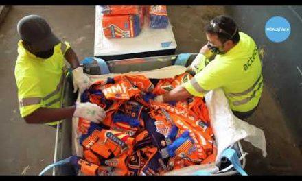 La economía circular llega a Valencia Basket de la mano de HMY