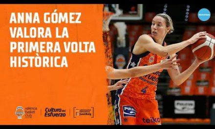 Anna Gómez hace balance de una primera vuelta histórica