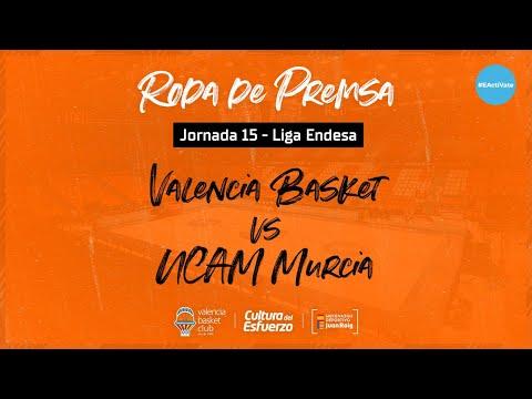 Rueda de Prensa post J15 Liga Endesa vs UCAM Murcia