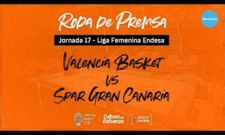 Rueda de Prensa post J17 LF Endesa vs SPAR Gran Canaria