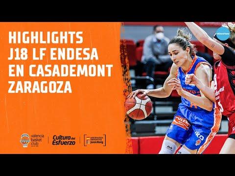 Highlights J18 LF Endesa en Casademont Zaragoza