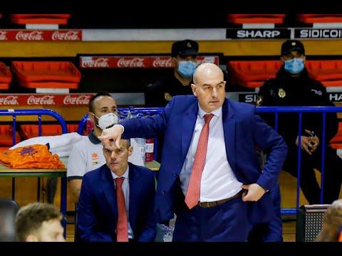 Declaraciones Jaume Ponsarnau y San Emeterio post Urbas Fuenlabrada- Valencia Basket