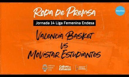Rueda de Prensa post J14 LF Endesa vs Movistar Estudiantes