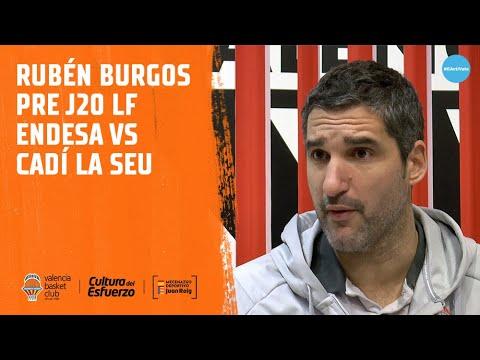 Rubén Burgos Pre J20 LF Endesa vs Cadí La Seu