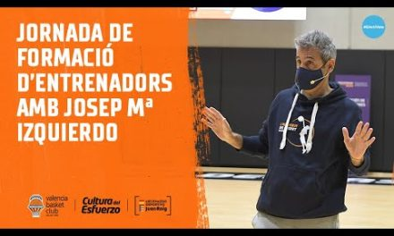 Jornada de formación de entrenadores con Josep María Izquierdo