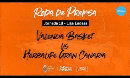 Rueda de Prensa post J18 Liga Endesa vs Herbalife Gran Canaria