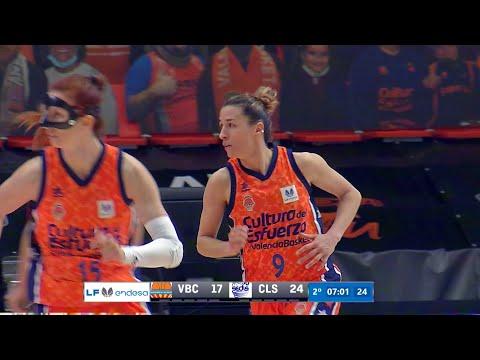Robo y contraataque pre J1 Eurocup Women vs Basket Hema SKW