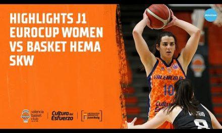 Highlights J1 Eurocup Women vs Basket Hema SKW