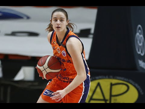 Primeros puntos Claudia Contell J1 Eurocup Women vs Basket Hema SKW