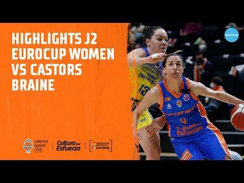 Highlights J2 Eurocup Women vs Castors Braine