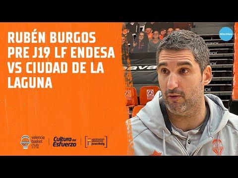 Rubén Burgos pre J19 LF Endesa vs Ciudad de la Laguna
