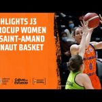 Highlights J3 Eurocup Women vs Saint-Amand Hainaut Basket