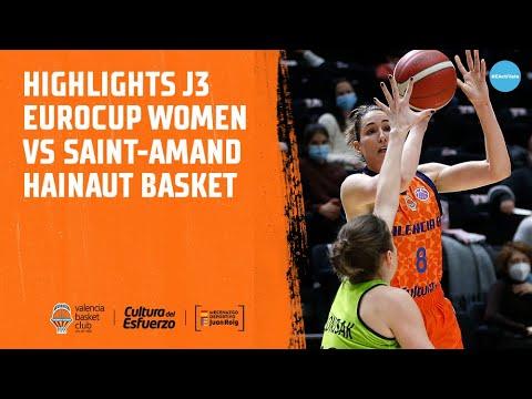 Highlights J3 Eurocup Women vs Saint-Amand Hainaut Basket