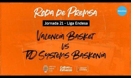 Rueda de Prensa post J21 Liga Endesa vs TD Systems Baskonia